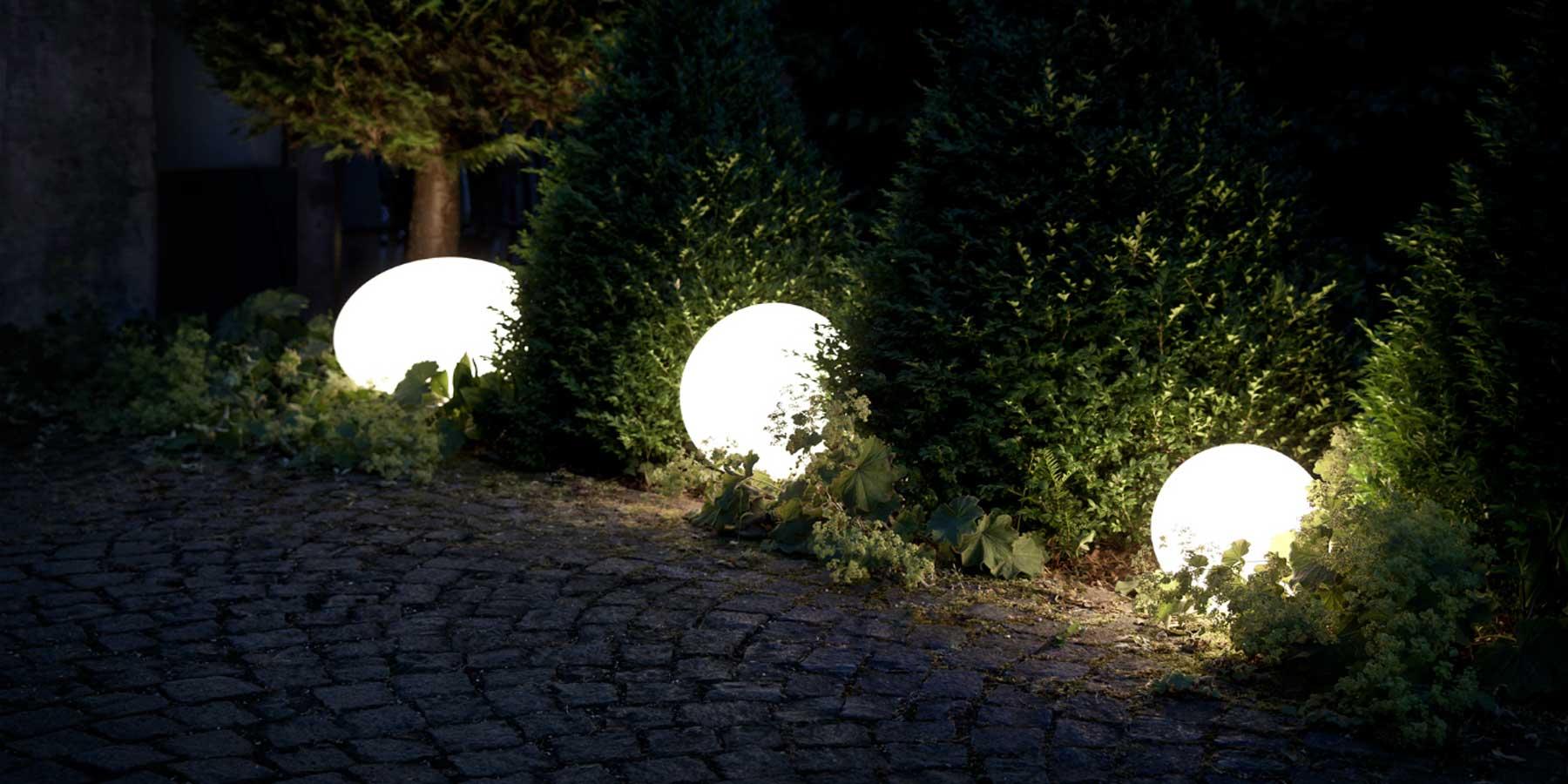 Illuminazione da giardino: panoramica sulle possibili soluzioni