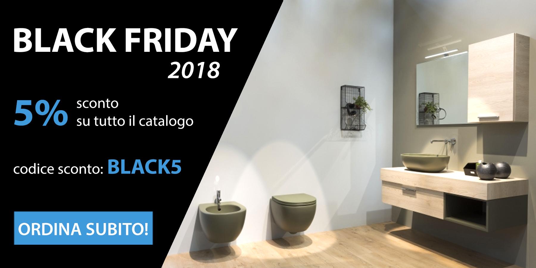 Partecipa al Black Friday di Ceramic Store: tanti sconti per te!