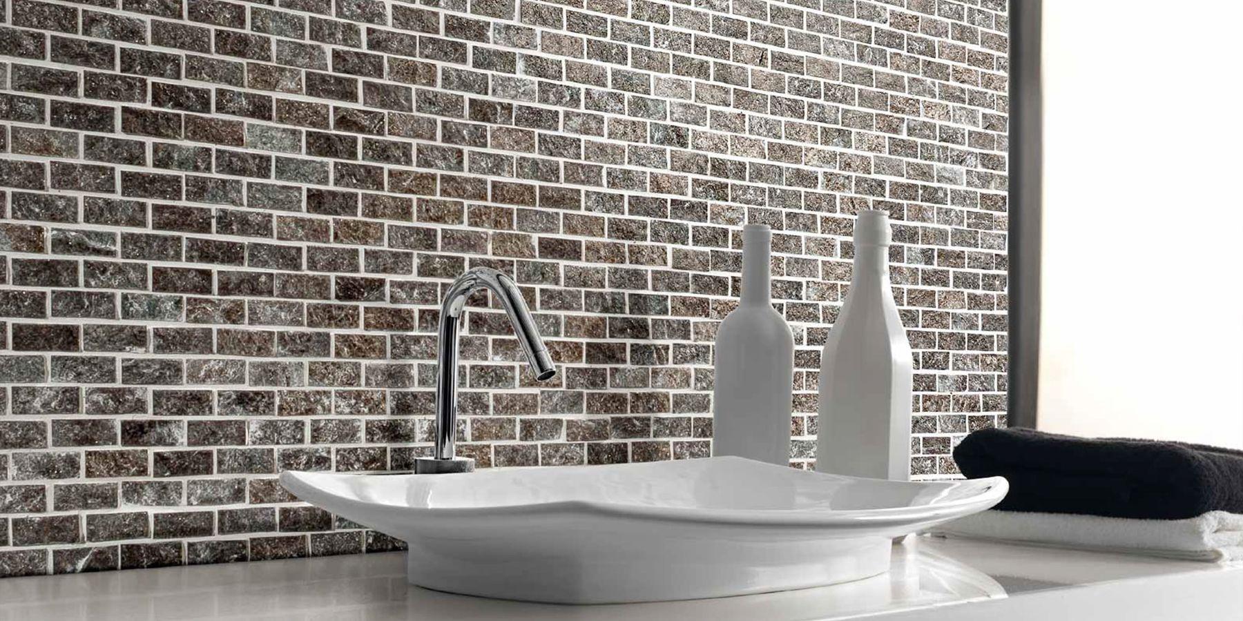 Bagno Con Mosaico Bianco mosaico da bagno: una scelta raffinata