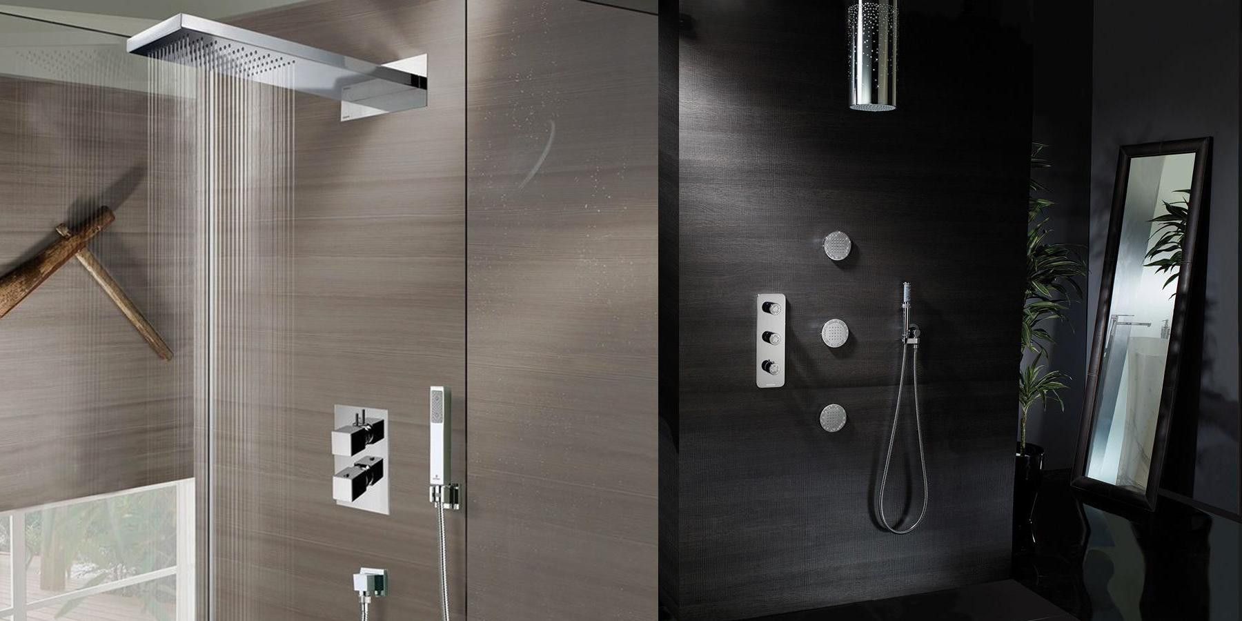 Composizione doccia: il vantaggio di componenti già abbinati