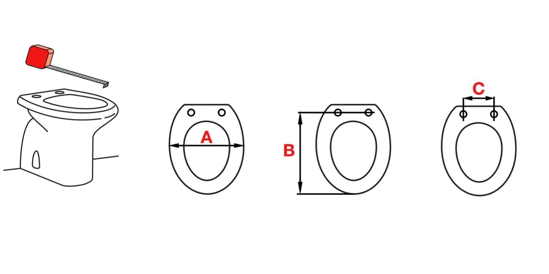 Sostituzione copriwater: riconosci il tuo sedile in tre mosse