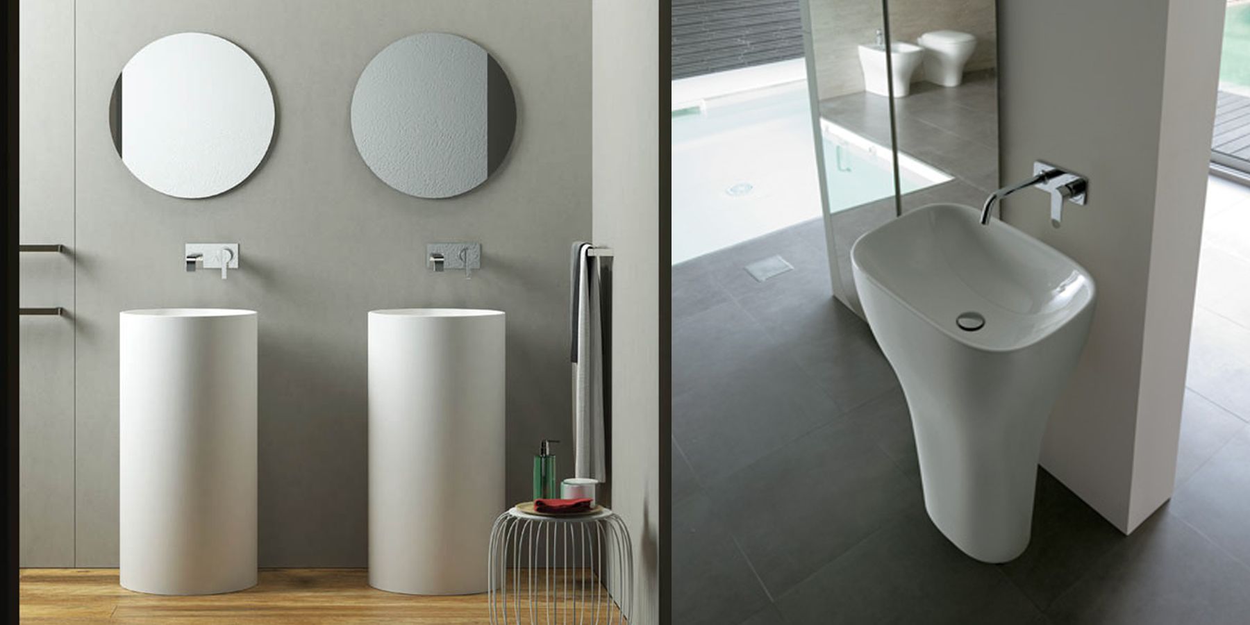 Lavabi freestanding: conosci le caratteristiche principali