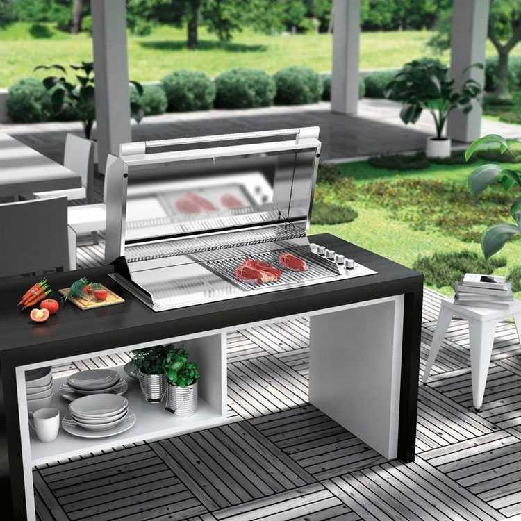 Tavolo Da Giardino Con Barbecue.Barbecue Da Giardino A Gas E Piu Professionale